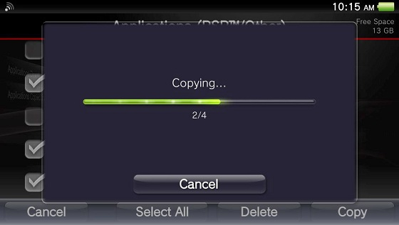 how to put psp games on ps vita through pc