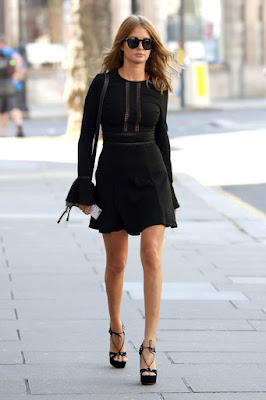 , Gossips! Millie Mackintosh flashes long hot legs in little black dress as she steps out in London, Latest Nigeria News, Daily Devotionals & Celebrity Gossips - Chidispalace