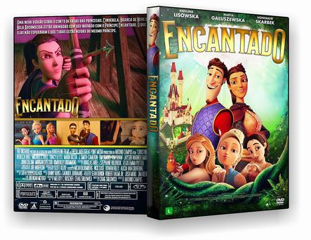 CAPA DVD – ENCANTADO DVD-R