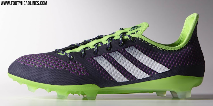1146f8e7537 Adidas Primeknit 2.0 Soccer Cleat - Black   Solar Green   Multicolor