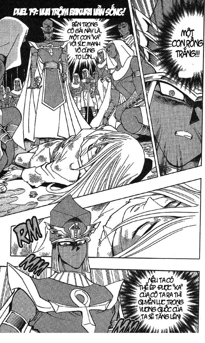 YUGI-OH! chap 297 - vua trộm bakura vẫn sống trang 1