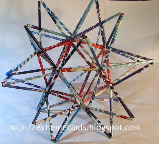 Junk Mail Stellated Icosahedron