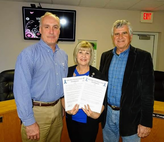 Metamora Herald child abuse proclamation