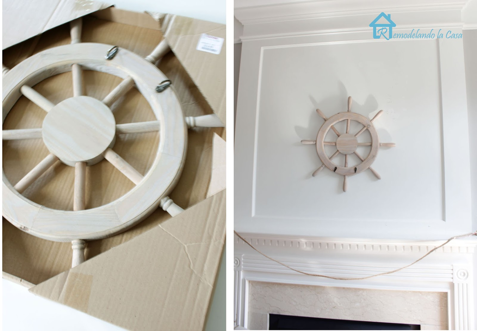ship wheel for decor