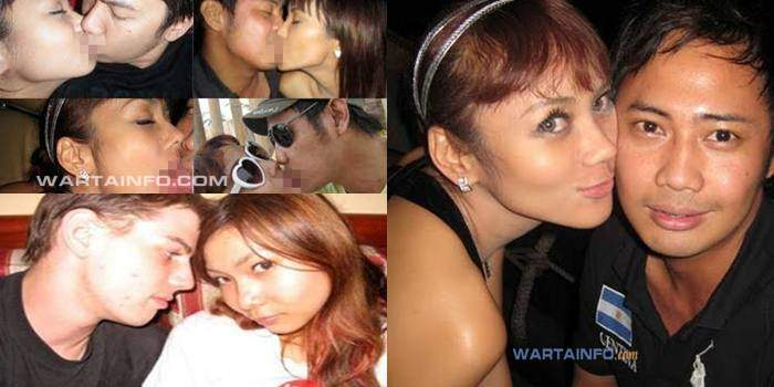 Foto Gambar Skandal Ciuman Bibir Hot panas Mesra Nakal Artis wanita Indonesia tanpa sensor yang beredar dan menghebohkan
