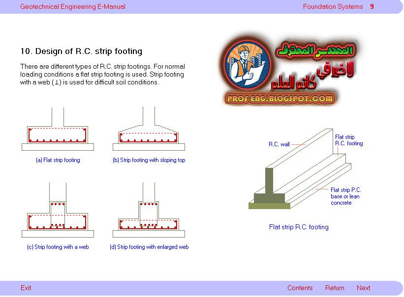 برامج تصميم الاساسات للباشمهندس عمر رضوان