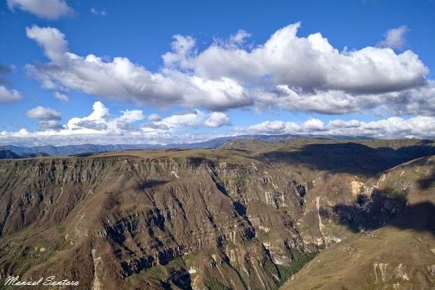 Huancas, Cañon del Sonche
