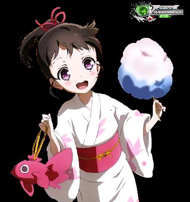 anime render: Shinomiya Utai Summer