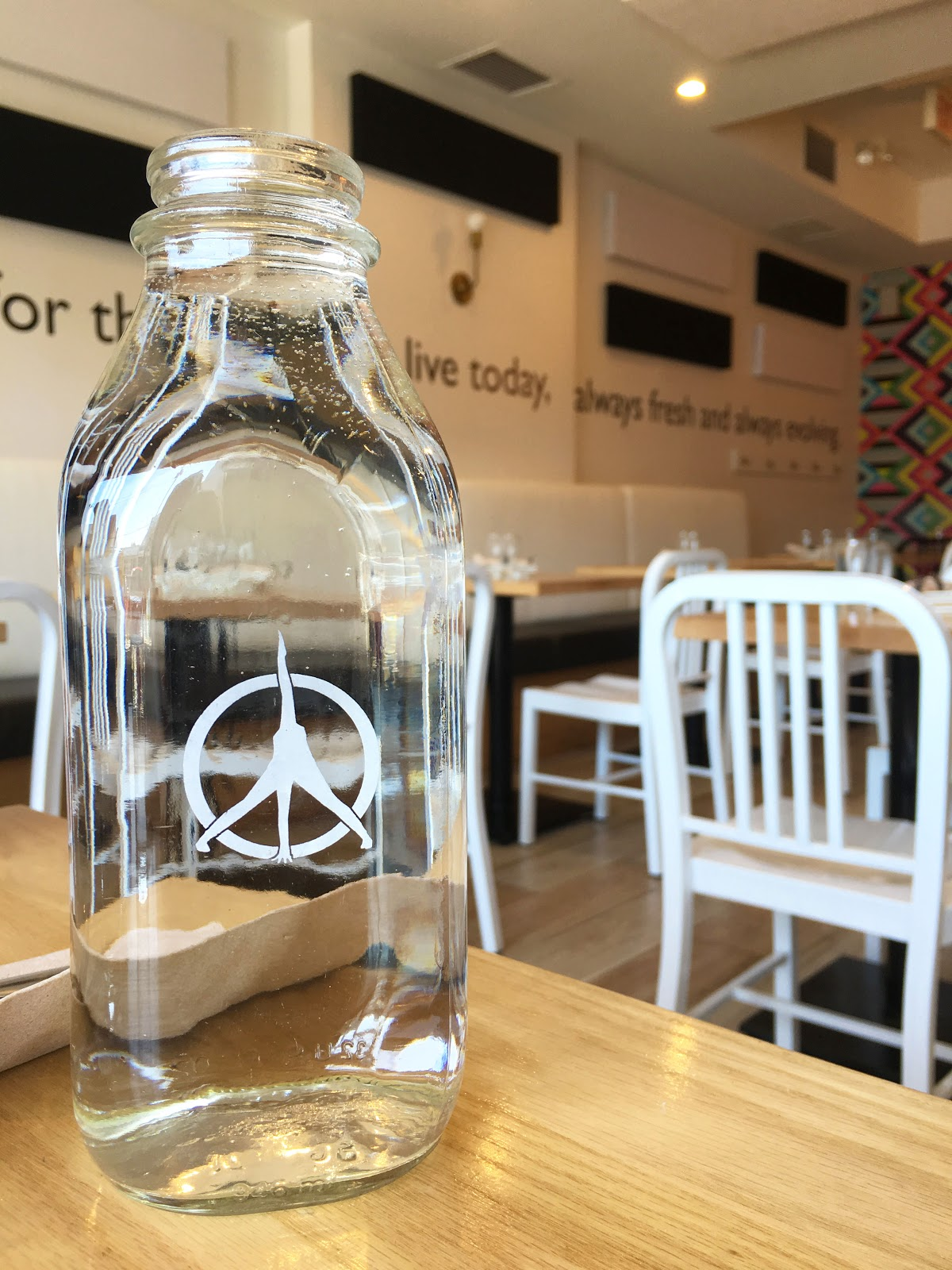 water jar at pure kitchen | Akinokiki