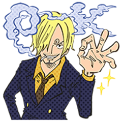 ONE PIECE Special Sanji Stickers
