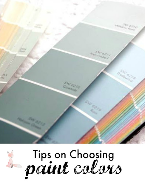 Tudor Lane: Tips for Choosing Paint Colors