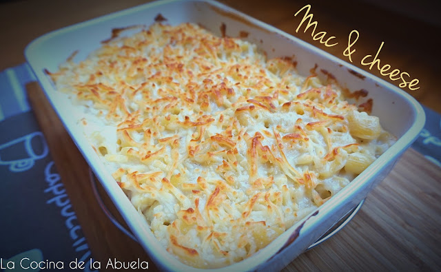 Macarrones con queso, mac & cheese