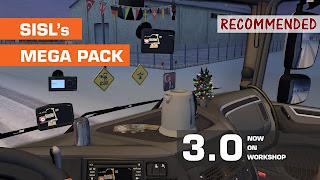 ets 2 sisl's mega pack v3.0