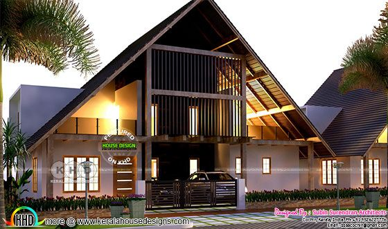 Home in Kerala, European style