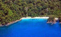 Teluk Hijau di banyuwangi mempunyai pantai indah luar biasa