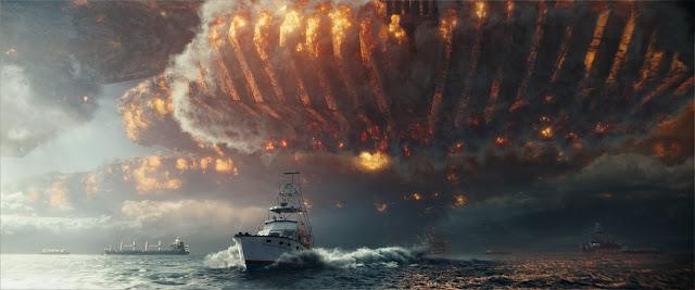 Independence Day 2: Wiederkehr räumt mit den Weltmeeren auf.