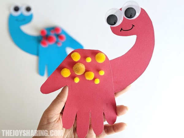 Dinosaur Craft for Preschoolers