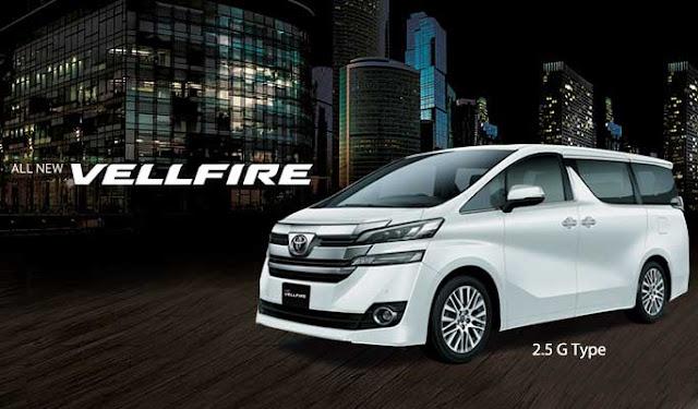 Spesifikasi Harga Kredit & Cicilan Toyota Vellfire Surabaya