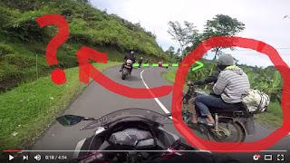 Begini Modus Begal Saat Akan Melakukan Kejahatan Terhadap Biker Saat Touring... SHARE YA ...