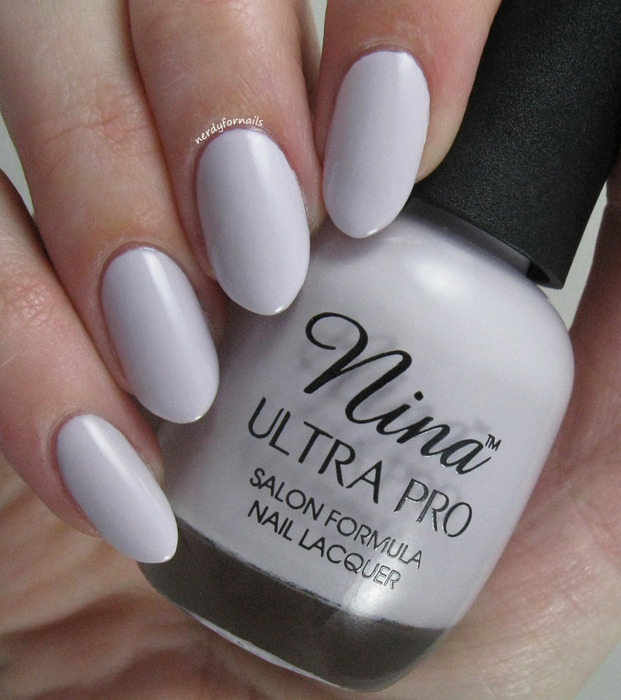 Nerdy for Nails: Lilac Whisper, A Nail Fail and My Thoughts on Anna ...