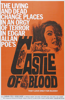 Poster - Castle of Blood (aka Danza Macrbra, 1964)