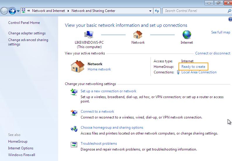 Penjelasan HomeGroup, Fitur di Windows 7 Yang Sangat Berguna