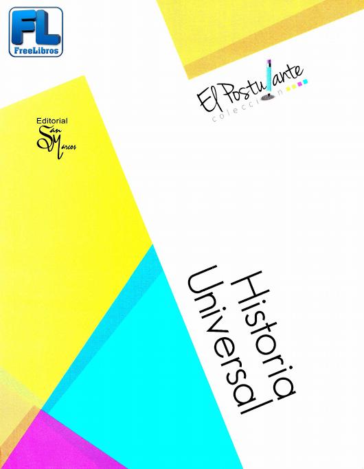 Historia universal – Colección El Postulante