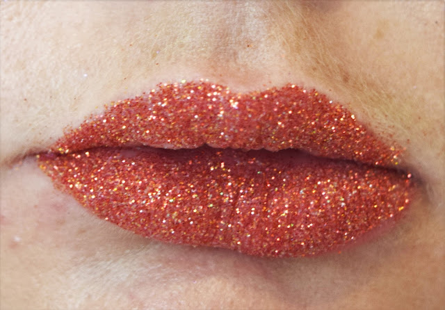 Glitter Lips Ruby Slippers Swatch