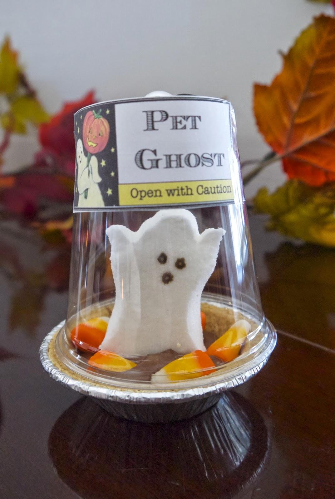 Easy Halloween Makeup: PennyWise: Happy Halloween: Easy Edible Pet Ghosts