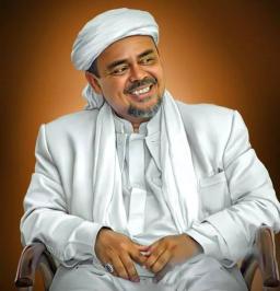 Hasil carian imej untuk Muhammad Rizieq Shihab