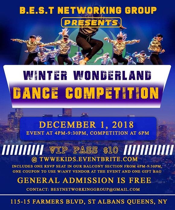 Winter Wonderland Dance Competition