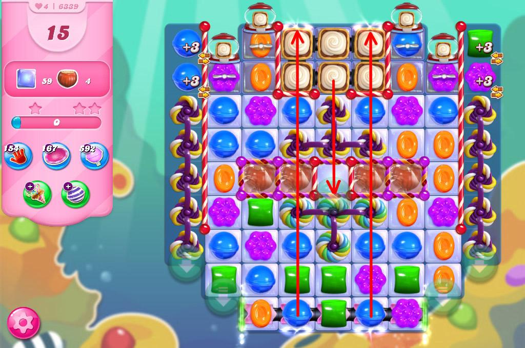 Candy Crush Saga level 6339