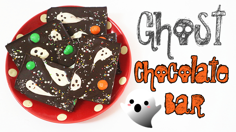 Ghost Chocolate Bar 小鬼朱古力