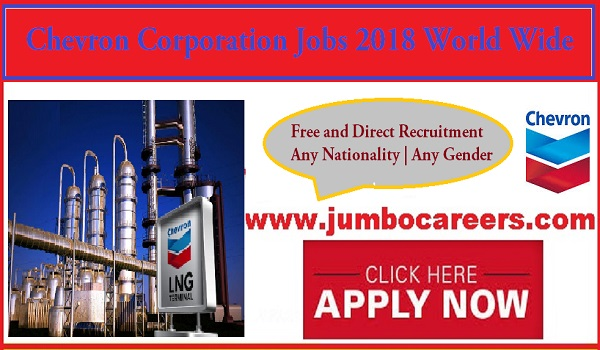 Current job opportunities in India, Salary details of Chevron Corporation jobs,