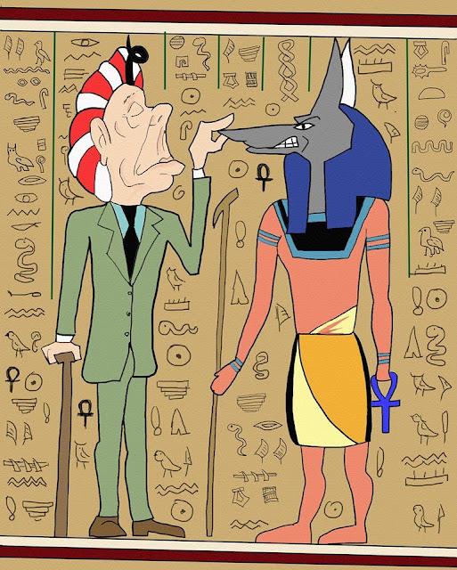 Viaje a Egipto (texto divertido)
