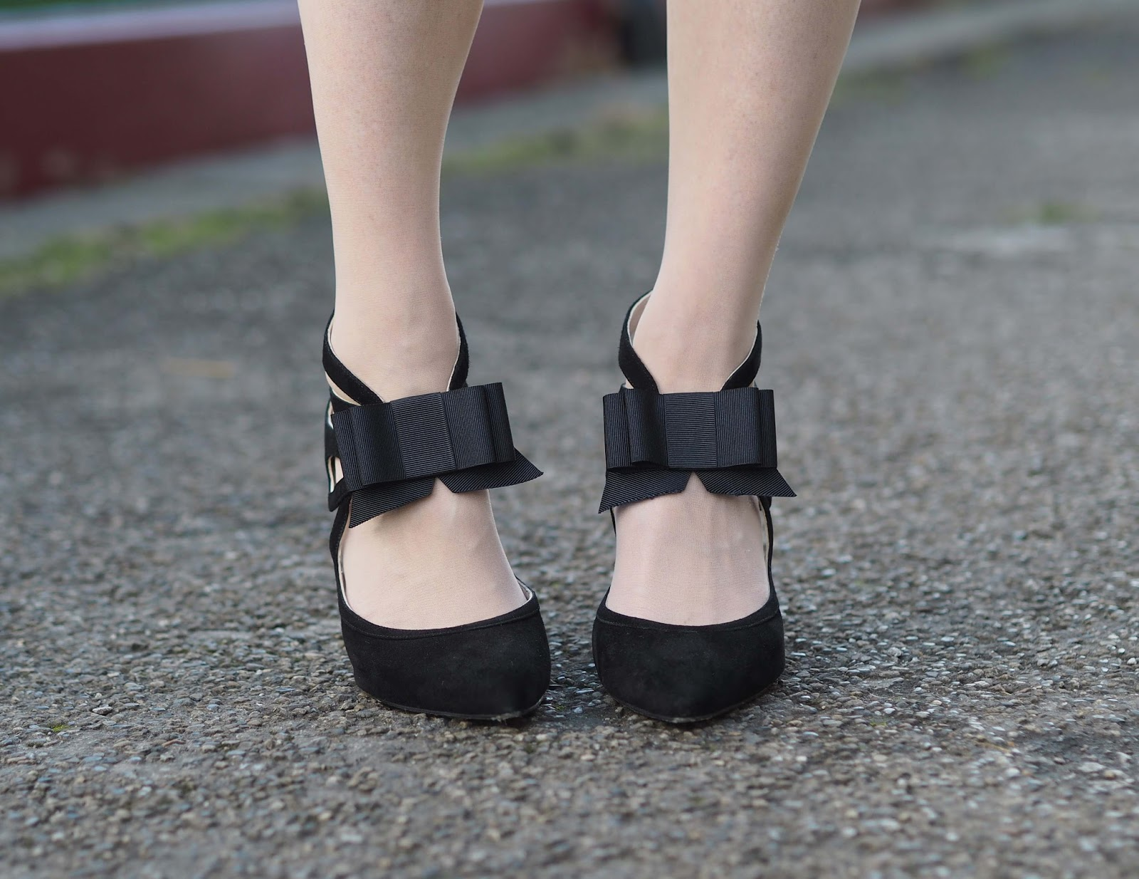 Strappy Bow Shoes