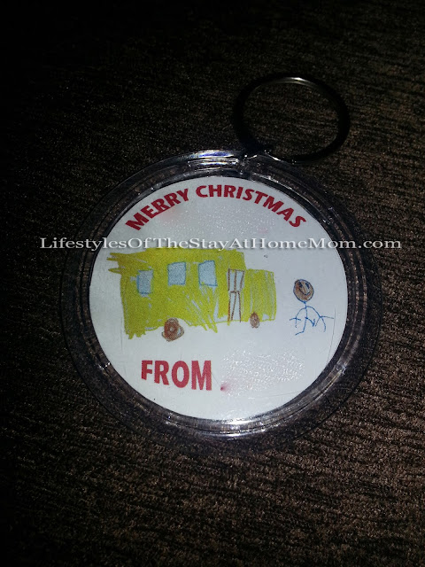 Lifestyles Of The Stay-at-Home Mom: The Wheels On The Bus-Driver Christmas Gift