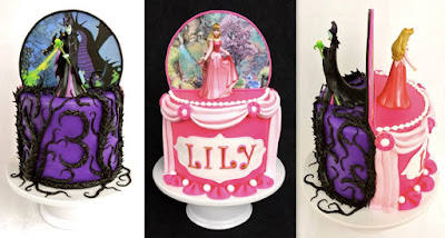 Sleeping Beauty (Aurora/Maleficent) Cake