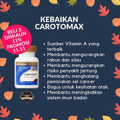 Promosi Shaklee 11.11 2018 - Carotomax