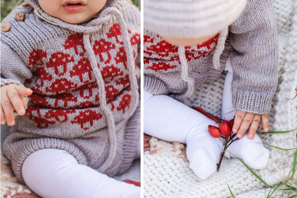 Vintage knit style