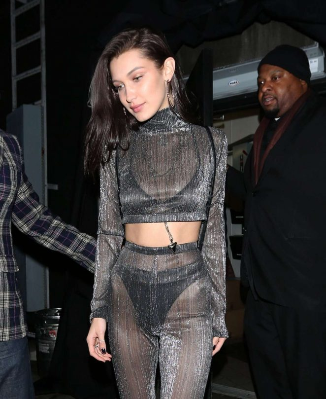 Bella Hadid – Goes to The Nice Guy Club in West Hollywood