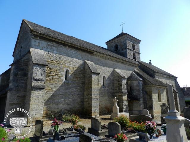 PICHANGES (21) - Eglise Saint-Laurent et Saint-Marc (XIIe-XVe siècle)