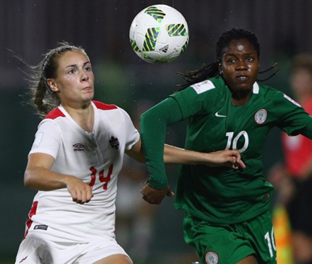 nigeria beat canada women world cup