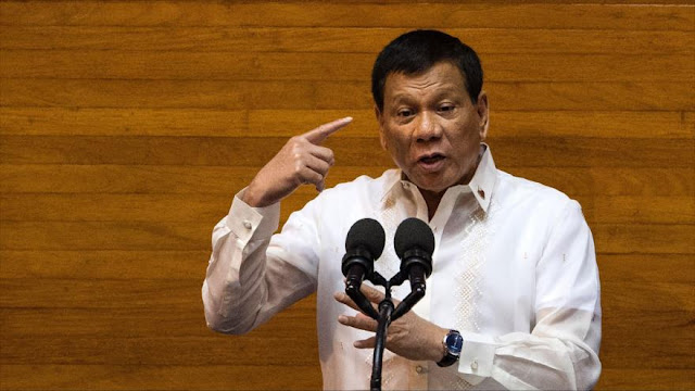 Duterte llama hijo de p*** al líder norcoreano Kim Jong-un