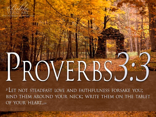 Lovable Bible Verse Wallpaper