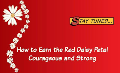 How to Earn the Red Daisy Girl Scout Petal Courageous and Strong