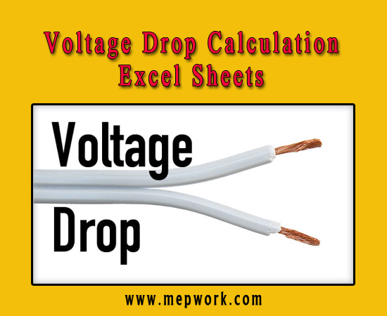 Download Voltage Drop Calculation Free Excel Sheets
