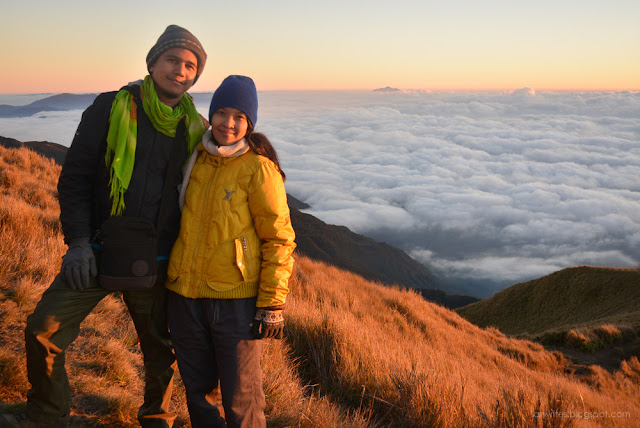 at Mount Pulag National Park