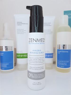 Zenmed AHA/BHA Refining Scrub