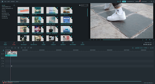 تحميل برنامج 2019 filmora مجانا رابط  تحميل مباشر لاجهزه الكمبيوتر و الاندرويد الضعيف 2019